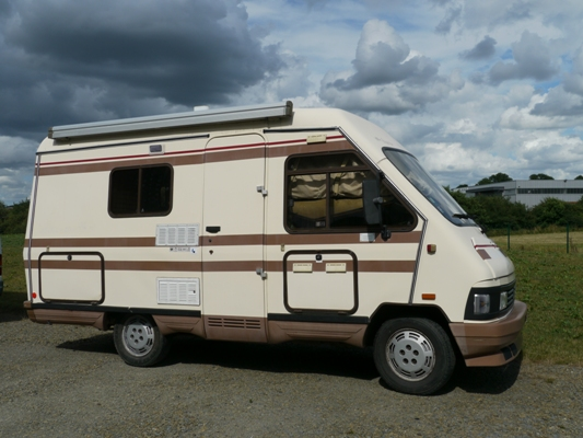 camping car integral occasion le voyageur