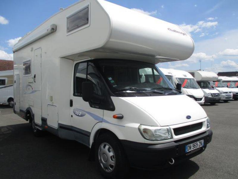 camping car integral occasion lit central poids lourds