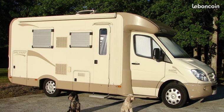 camping car integral occasion rhone alpes