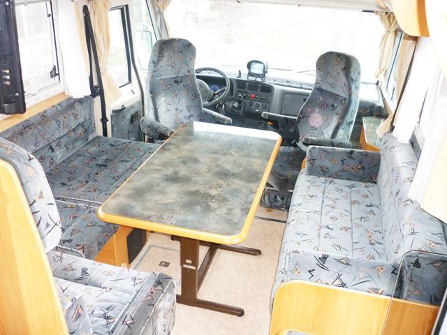 camping car integral pilote galaxy 240