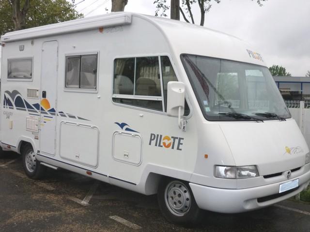 camping car integral pilote