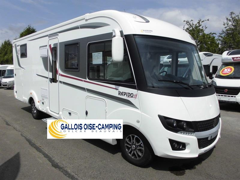 camping car integral rapido 2019