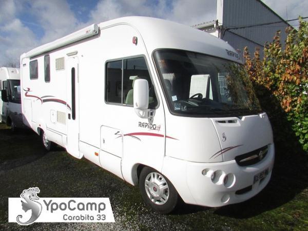 camping car integral rapido 9090 df