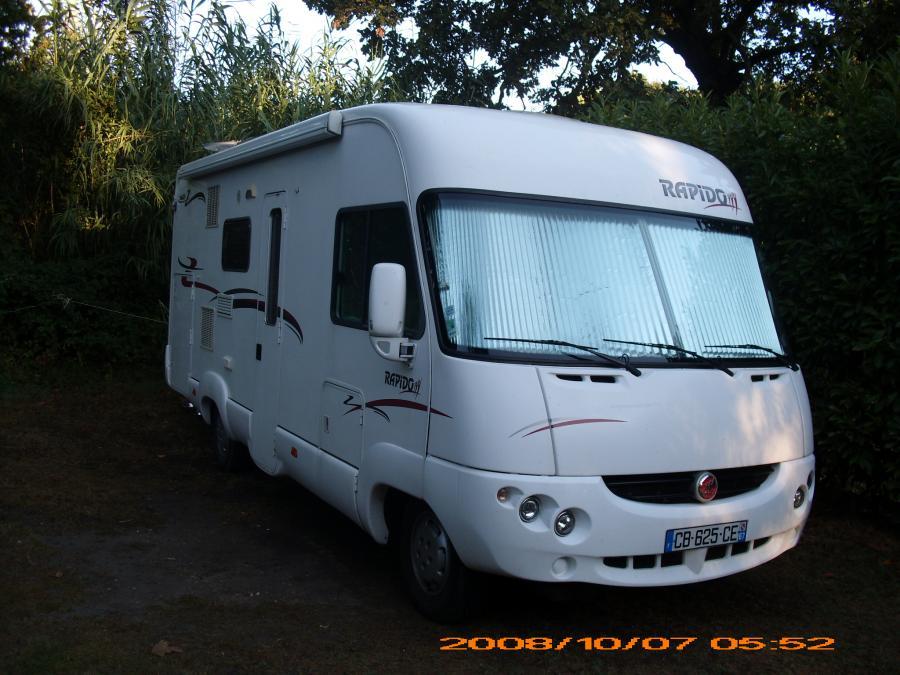 camping car integral rapido 963f