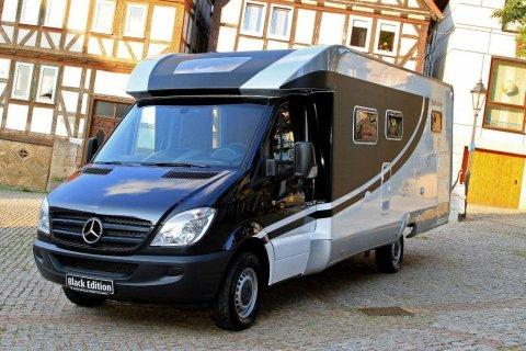 camping car integral sur porteur mercedes