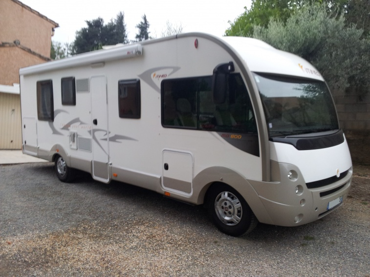 camping car itineo occasion