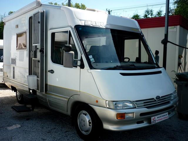 camping car laika integral 1996