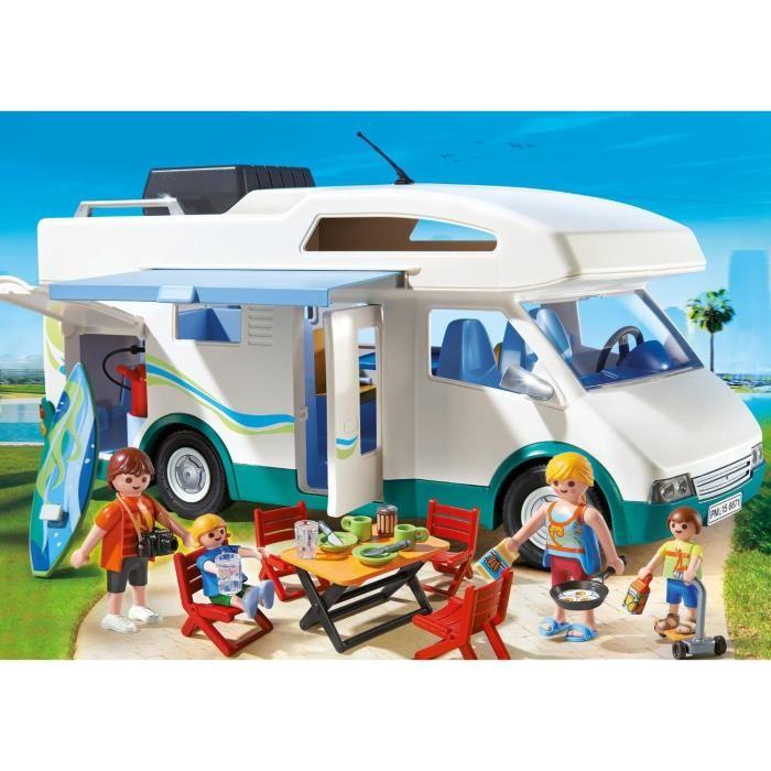 camping car playmobil cdiscount