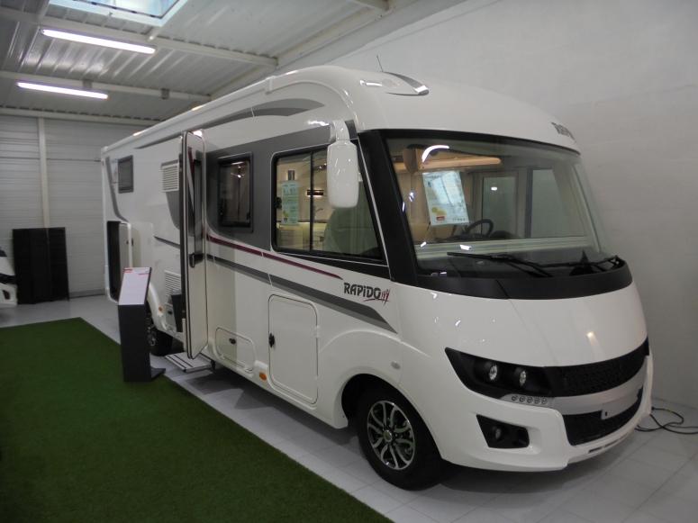 camping car rapido integral 8096