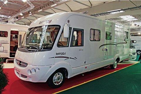 camping car rapido integral 9096 df