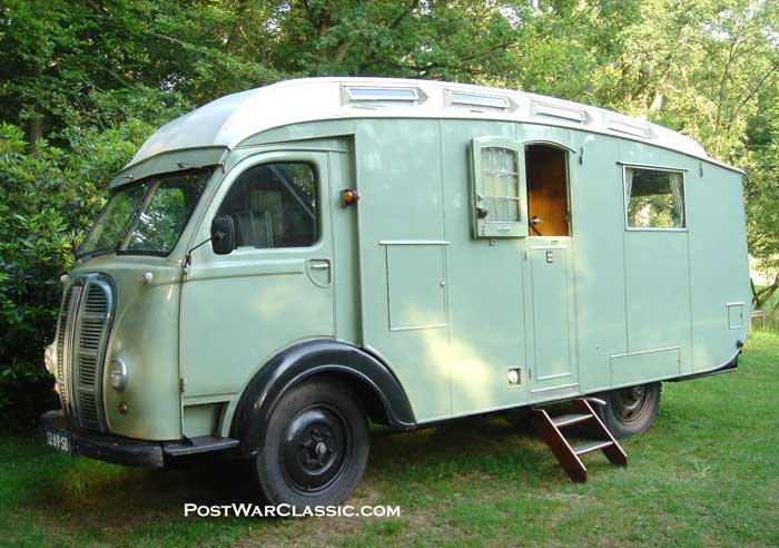 camping car retro