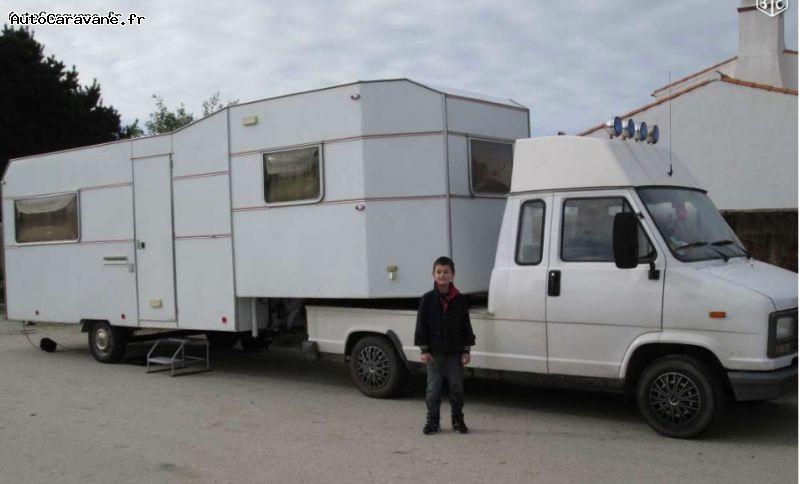 camping car semi integral