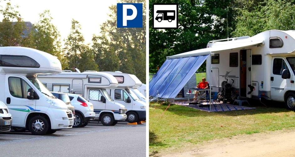 camping car stationnement