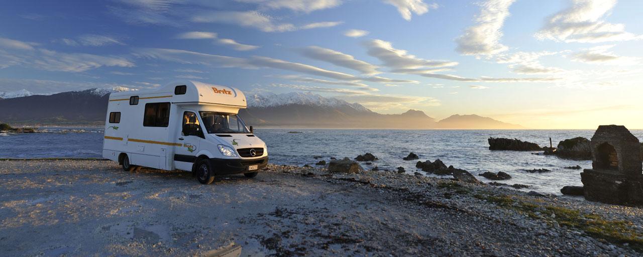 camping car zelande