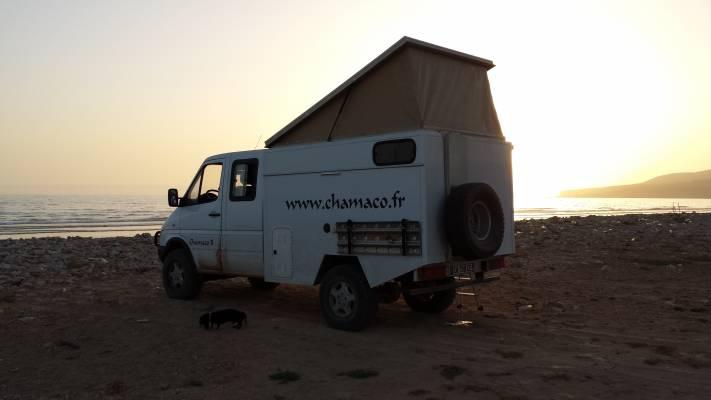 location camping car 4x4 maroc