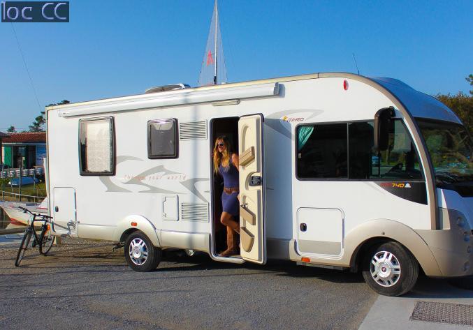 location camping car 7 places bordeaux