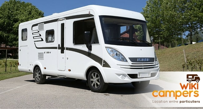 location camping car a particulier