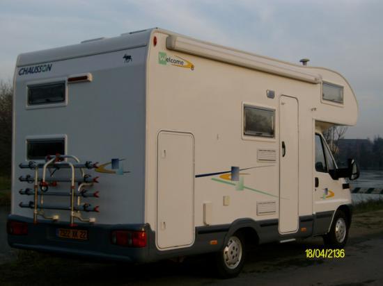 location camping car dinan