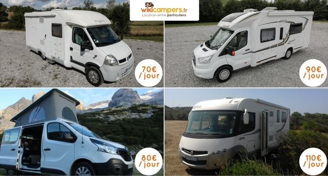 location camping car entre particulier portugal