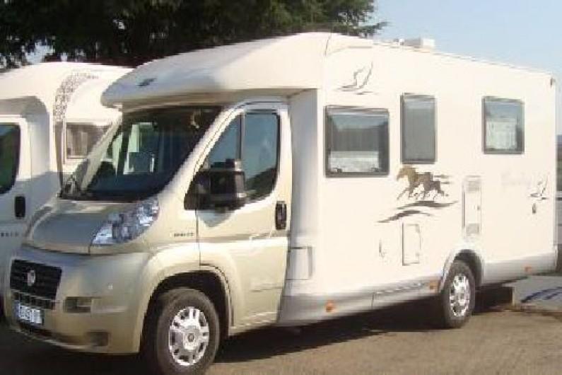 location camping car figari