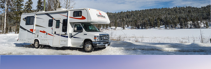 location camping car hiver