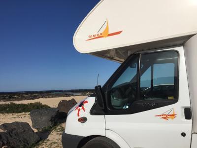 location camping car lanzarote