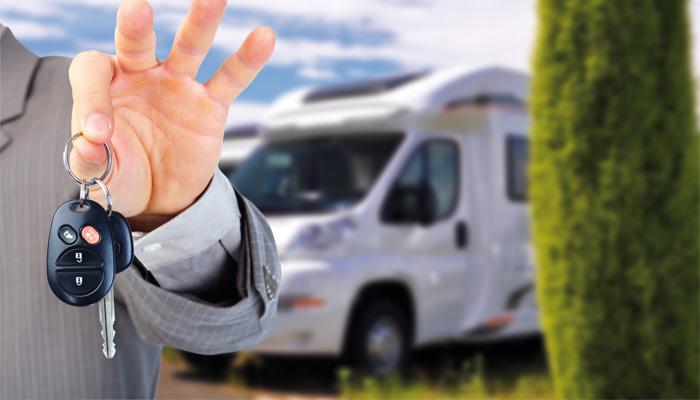location camping car provence