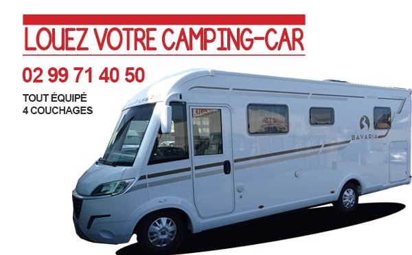 location camping car redon