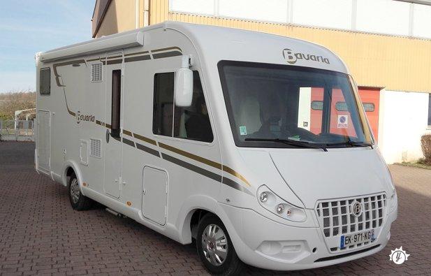 location camping car week end bordeaux